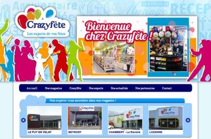 Website of Crazyfête