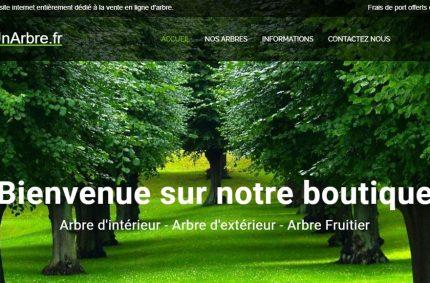 Boutique acheterunarbre.fr